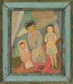 """""""A Chilo's Dream"""", b.r.<br>olej na płótnie<br>60,5 x 49,5 cm<br>(Wł. MUT)"""