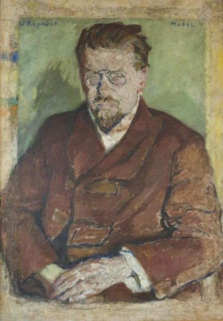 """""""Portret pisarza noblisty Władysława St. Reymonta"""", ok. 1907<br>olej na płótnie<br>94,1 x 66,4 cm"""
