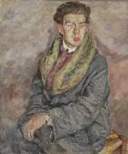 """""""Portret Dody Conrada, śpiewaka polskiego pochodzenia"""", ok. 1926<br>olej na płótnie<br>108,5 x 90 cm"""