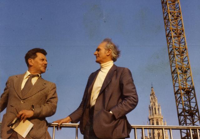 Z Marianem Pankowskim, Antwerpia 1978