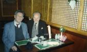 Z Władysławem R. Szomańskim, Londyn, lata 80.