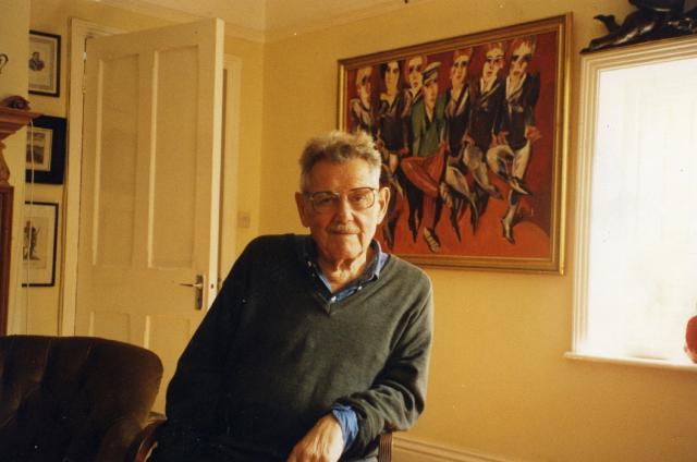 We własnym mieszkaniu, Londyn, lata 90.
