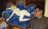 Wystawa w Polskim Instytucie Kulturalnym, Londyn, listopad 1990